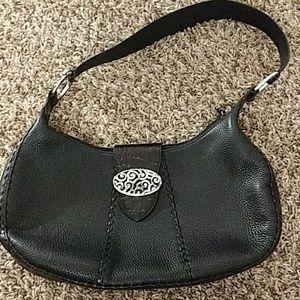 Black Leather BRIGHTON Shoulder bag Purse